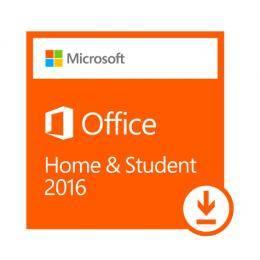 微軟Office Home and Student 2016 家用版多國語言下載版(商品無實體光碟,軟體類無7天鑑賞期不可退貨)