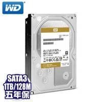 WD 【企業級(金標)】1TB(WD1005FBYZ)/SATA3/7200轉/128MB/五年保固