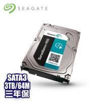 Seagate 3TB (ST3000VX004)[監控碟]/三年保