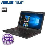 ASUS FX553VD-0042D7700HQ【i7-7700HQ/8G/1TB/GTX-1050 4G/15.6吋】+ ASUS原廠電競後背包【福利品出清】