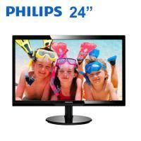 PHILIPS 246V5LHAB 24型 液晶顯示器(1920X1080、D-Sub、HDMI、喇叭/三年保固)