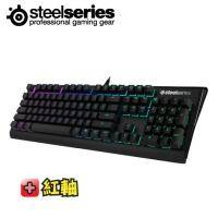 SteelSeries Apex M650 RGB機械式電競鍵盤/紅軸中文/世界頂級電子競技玩家認證