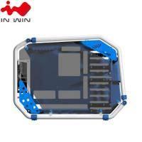 迎廣 IN-WIN D-Frame 2.0 全塔式機殼內建白金牌1065W電源供應器(藍色)/E-ATX/Type-C (特殊客訂商品 不適用七天鑑賞期)