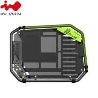 迎廣 IN-WIN D-Frame 2.0 全塔式機殼內建白金牌1065W電源供應器(綠色)/E-ATX/Type-C (特殊客訂商品 不適用七天鑑賞期)