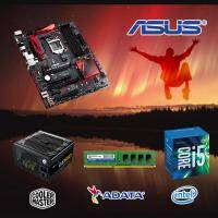 【高興價】Core i5-6400+華碩 B150 PRO GAMING AURA+威剛 DDR4-8GB+CM(酷碼) New GX 550 電競版