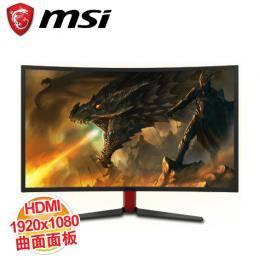 MSI Optix G27C 27吋 極速曲面電競螢幕 / 1920X1080 FHD 144Hz / DVI、DP、HDMI