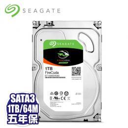 【火梭魚】Seagate 1TB/混合碟(ST1000DX002)/SATA3/7200R/64MB/8GB SSD/五年全保