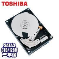 TOSHIBA 3TB 雲端硬碟(MC04ACA300E) SATA3/7200轉/128MB快取/三年保