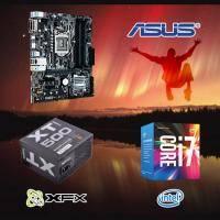 【高興價】Core i7-7700+華碩 PRIME B250M-A+XFX 訊景 XT-500 500W/80Plus銅牌