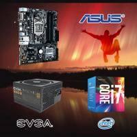 【高興價】Core i7-7700+華碩 PRIME B250M-A+EVGA 500B 80PLUS 銅牌