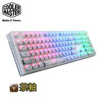 CM(酷碼) MasterKeys Pro L RGB 水晶版 機械式電競鍵盤(茶軸)