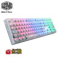 CM(酷碼) MasterKeys Pro L RGB 水晶版 機械式電競鍵盤(紅軸)