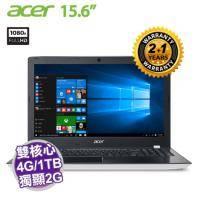 acer E5-575G-56VD 白 原廠三年保固【i5-7200U/4G D4/1TB+128G SSD/NV-940MX 2G/FHD/DVD/W10】客製化商品,無法退貨