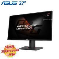 ASUS ROG PG278QR 27吋 /WQHD2560x1440/電競玩家級(G-Sync) 寬螢幕 液晶螢幕 黑色