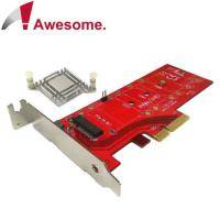 Awesome M.2 NVMe高功率SSD轉PCIe 3.0 x4轉接卡 - AWD-DT-129A