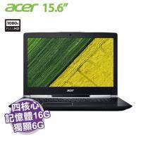 acer VN7-593G-76N4【i7-7700HQ/16G D4/1TB+256G SSD/GTX-1060 6G/15.6吋 FHD/W10】【福利品出清】
