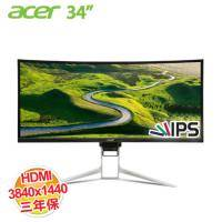 acer XR342CK 34型 21:9曲面寬螢幕顯示器3840X1440/IPS/HDMI2.0/MHL2.1/DP/mini DP/三年保固(客訂商品,除新品故障瑕疵,不提供7天鑑賞期 )