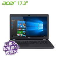 acer ES1-731G-P3R7 黑【N3710/4G/500G/910M-2GB/17.3吋/W10】