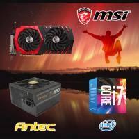 【高興價】Core i7-7700+微星 RX470 GAMING X 8G+ANTEC NX 550W銅牌