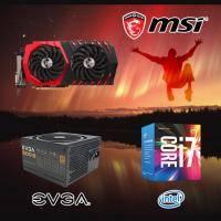 【高興價】Core i7-7700+微星 RX470 GAMING X 8G+EVGA 500B 80PLUS 銅牌