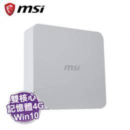 MSI Cubi-239TW 迷你電腦 /白【intel C3215U/4G/32G SSD/WiFi/W10/1年保】