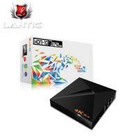 Lantic喬帝 UHD-S200 彩虹奇機 四核心 64 位元 4k 海量版 智慧電視盒 Android TV Box ◤高CP 32GB 4K追劇神器◢ 高規2G RAM+愛奇藝+32G存儲+Li..