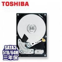 TOSHIBA Sonance 5TB NAS硬碟(MD04ABA500V) /SATA3/7200轉/64MB快取/三年保固內非人損直接換新