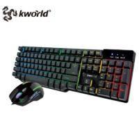 廣寰KWORLD KCG200 電競鍵鼠組 /類機械式鍵盤+3200dpi有線滑鼠