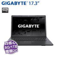 GIGABYTE P17F V7【i7-7700HQ/8G D4/1TB 7200轉/GTX-950M 2G/17.3吋 FHD/DVD/W10/P17FV7-2K777H8GH1W10】