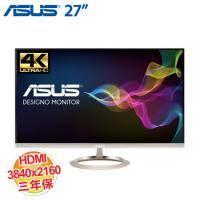 ASUS 華碩 Designo MX27UC 27吋美型顯示器【4K、HDMI 2.0、DisplayPort 1.2、DisplayPort over USB-C,三年保】(客訂商品,除新品故障瑕疵,不提供7天鑑賞期 )