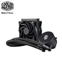 CoolerMaster(酷碼) MasterLiquid 120 水冷CPU散熱器 (12CM冷排,雙風扇,支援AM4)