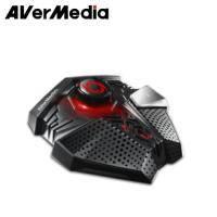 圓剛AVerMedia GM310 Aegis 神盾電競專用抗噪麥克風 /DSP音訊處理技術/LED燈號即時偵測語音/音量控制旋鈕