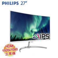 PHILIPS 278E8QJAW 27型VA曲面螢幕(VA/D-Sub、DP、HDMI/三年保固)