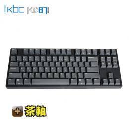 ikbc KD87 機械式鍵盤-黑/87鍵/茶軸中文/Cherry軸/PBT雷雕鍵帽