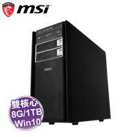 MSI PROBOX400-006TW 桌上型電腦【G4500/8G/1TB/DVD/W10-PR0/3年保3年到府收送】【福利品出清】