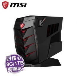 MSI Aegis 3 7RB-030TW 電競電腦【i5-7400/8G/1TB+256G SSD/GTX-1050Ti 4G/DVD/WiFi/W10/3年保】