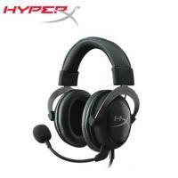 金士頓 HyperX Cloud 2 電競耳麥(金屬灰)/有線 送HyperX吸式耳機掛架  【福利品出清】