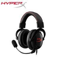 金士頓 HyperX Cloud 2 電競耳麥(黑紅色)/有線 送HyperX吸式耳機掛架