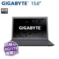 GIGABYTE P15F V7【i7-7700HQ/8G D4/1TB 7200轉/GTX-950M 2G/15.6吋 FHD IPS/DVD/W10/P15FV7-2K777H8GH1W10】