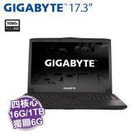 GIGABYTE P57W V6【i7-6700HQ/16G D4/1TB 7200轉+256G M.2/GTX-1060 6G/17.3吋 FHD/DVD/背光鍵盤/W10/P57WV6-2K767..