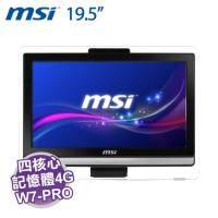 MSI AE201-094TW AIO 桌上型液晶電腦 / 黑【i5-4460/4G/500G/19.5吋/DVD/WiFi/W7-PRO】