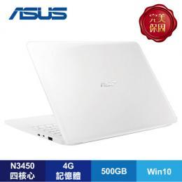 ASUS E402NA-0072AN3450 天使白超值筆電/N3450/4G/500G/14吋/W10