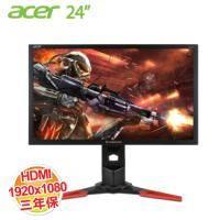 acer Predator XB241H 24吋電競螢幕 / 1920X1080 FHD / DP、HDMI / NVIDIA G-SYNC / 不閃頻+濾藍光 / 144Hz / 1ms極速反應【福..