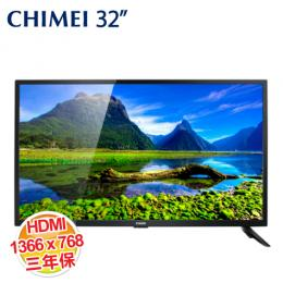 【CHIMEI奇美】CHIMEI奇美32吋LED液晶顯示器(TL-32A500)+視訊盒(TB-A030)
