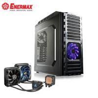 安耐美 CPU 水冷散熱器 ELC-LM120S-TAA+安耐美 ECA3221 鐵甲神兵 電腦機殼 USB2.0