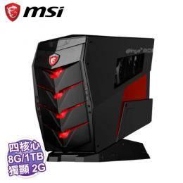 MSI Aegis-086TW 電競電腦【i7-6700/8G/1TB+128G SSD/GTX-1060 3G/DVD/WiFi/W10/3年保】