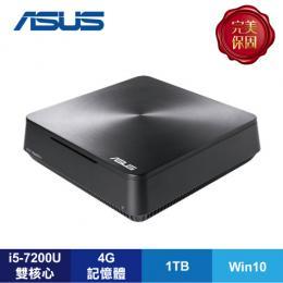 ASUS VM65N 迷你電腦【i5-7200U/4G D4/1TB/NV-930M 1G/W10/1年保/VM65N-72UYATE】VivoMini 系列