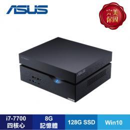 ASUS VC66 迷你電腦【i7-7700/8G D4/1TB+128G SSD/W10/1年保/VC66-770ULHA】VivoMini 系列