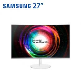 SAMSUNG C27H711QEE 27型量子點曲面顯示器 2K/VA/HDMI、MiniDP/三年保固