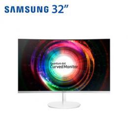 SAMSUNG C32H711QEE. 32型 量子點曲面顯示器 2K/VA/HDMI、MiniDP/三年保固 Monitor /保固三年